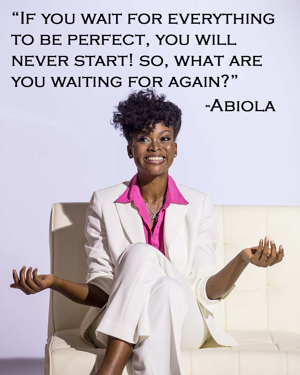 Abiola Abrams - spiritual business plan quotes