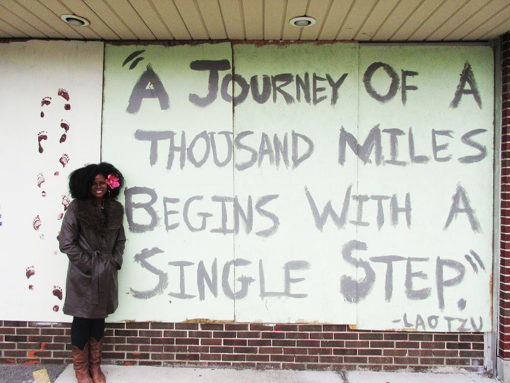 Abiola Abrams in Ferguson