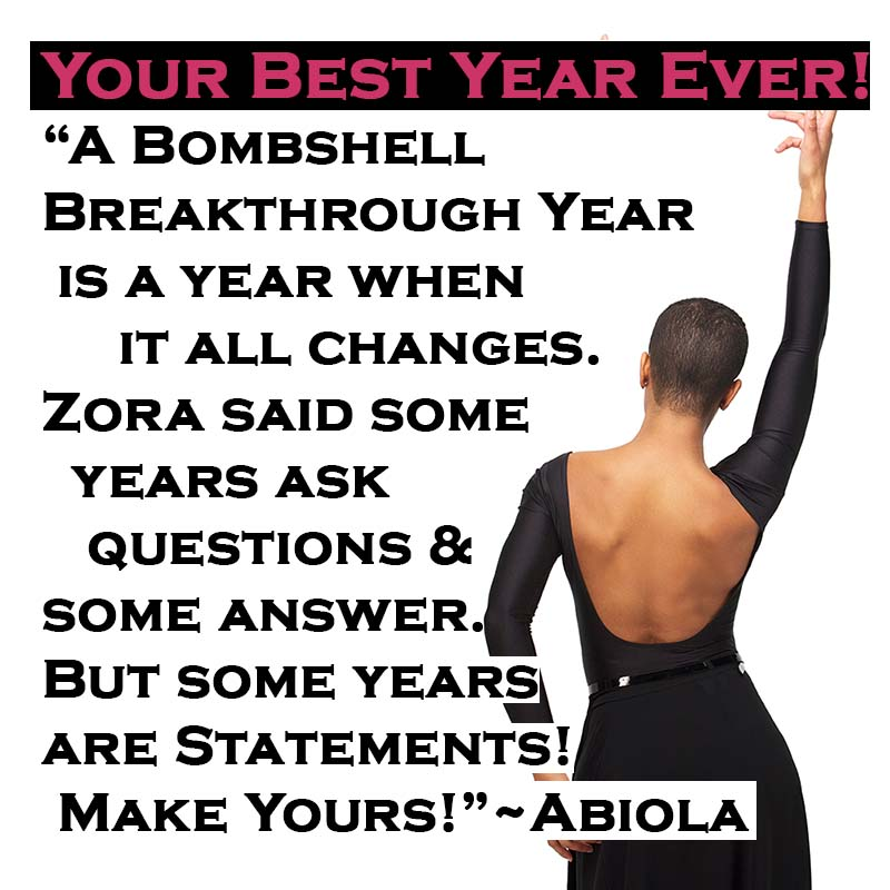 Best Year Ever! Will You Rock This Year?