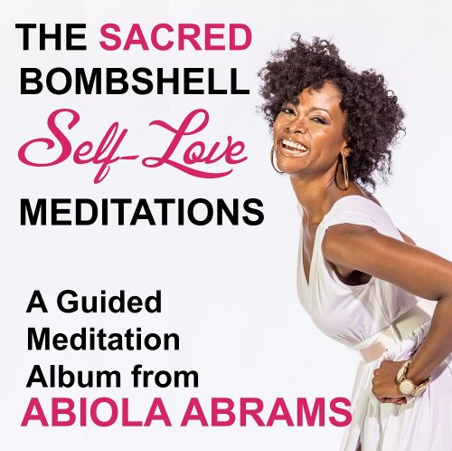 Sacred Bombshell Self-Love Meditation CD Album