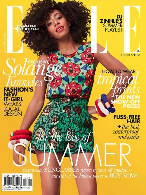ELLE Magazine Solange Knowles