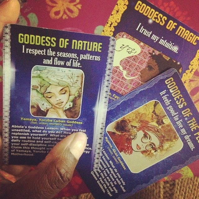 Feminine Energy Affirmation Cards