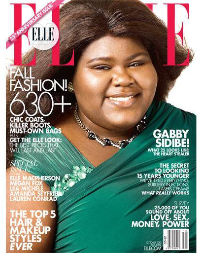 Elle Magazine, Gabby Sidibe