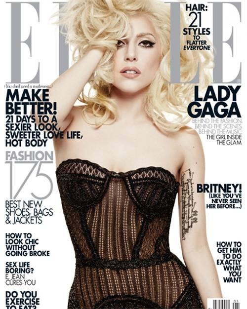 Lady Gaga, Elle Magazine