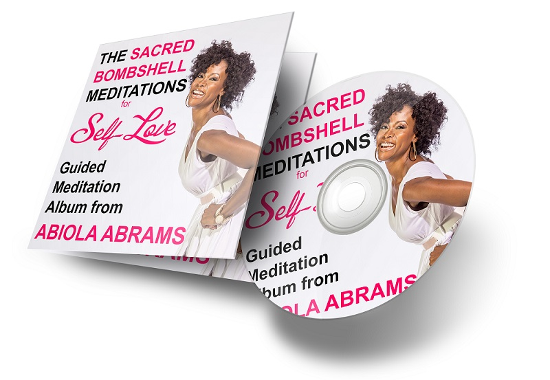 Sacred Bombshell Self-Love Meditation Album - Energetic Decording