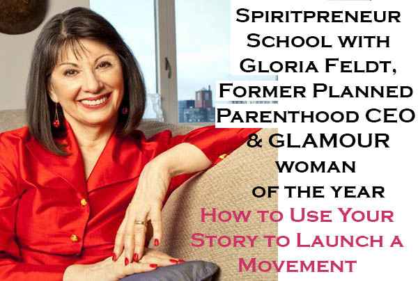 Spiritpreneur School Gloria Feldt