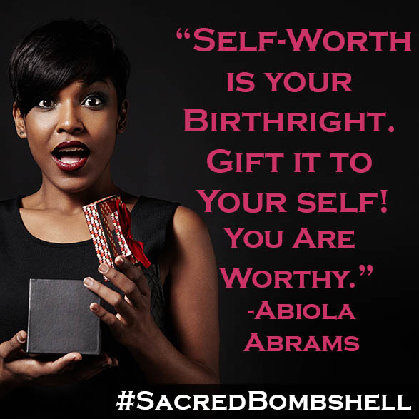 Affirm It! I am Worthy...