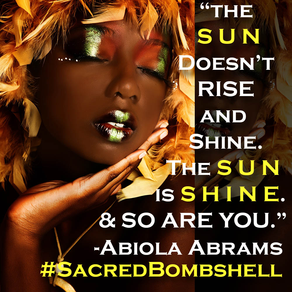 Affirm It! I am the Sun!!