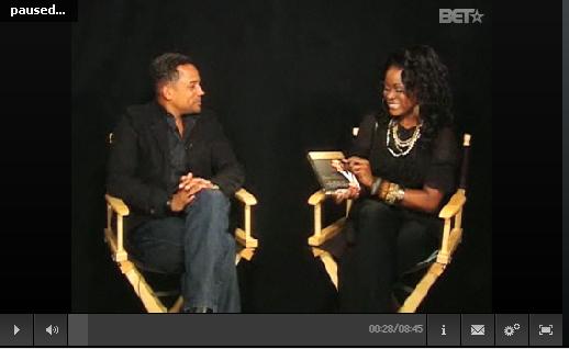 Hill Harper, Abiola Abrams, BET