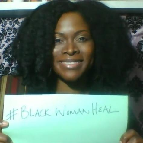 Black Woman Heal Day