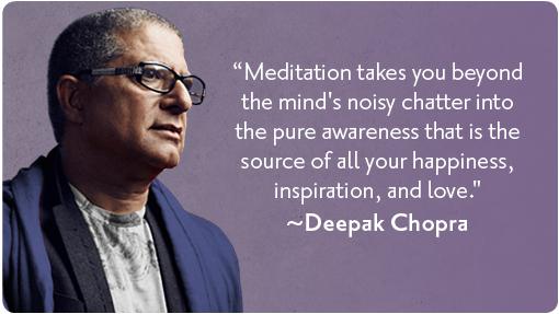 Deepak-Chopra on Meditation