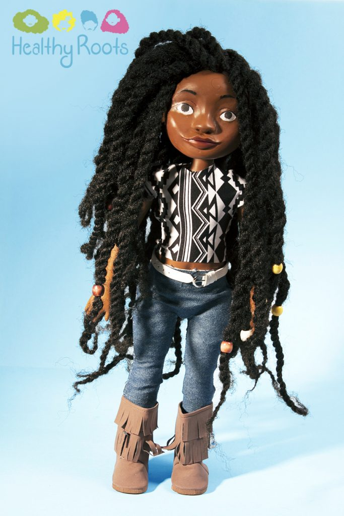 Healthy Roots Natural Hair Doll by Yelitsa Jean-Charles