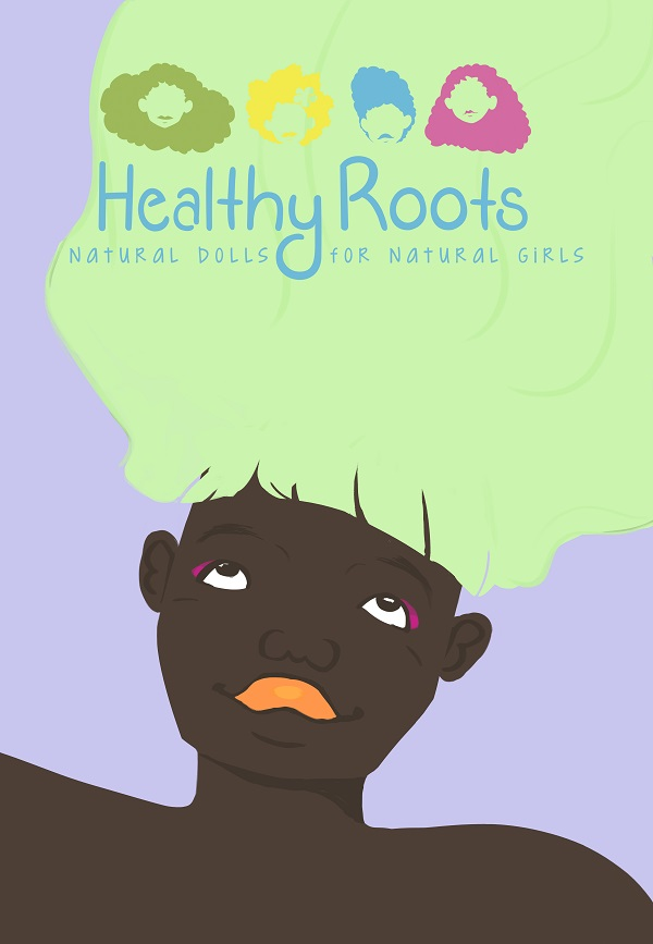 Healthy Roots Natural Hair Doll