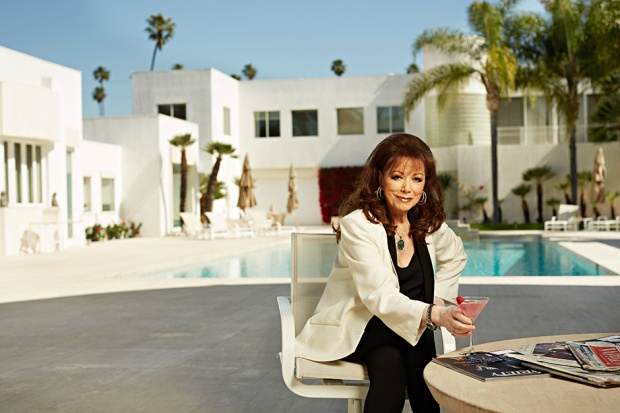 Jackie Collins at Home