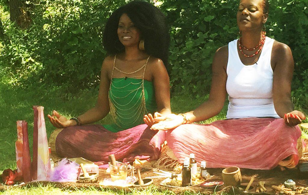 Abiola and Nikki - Crown Chakra Meditation