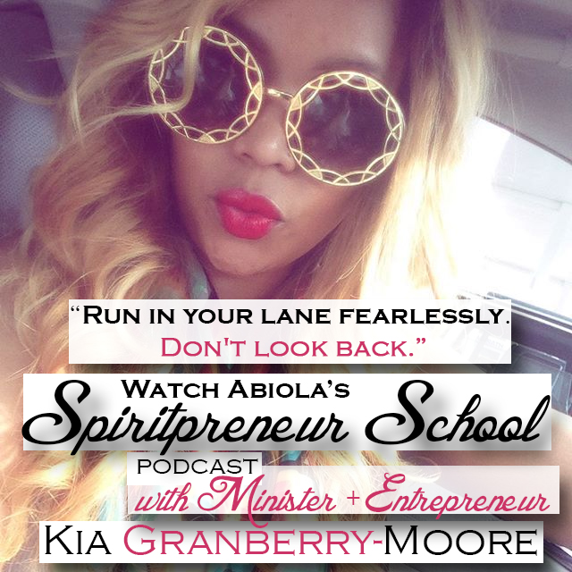 Kia Granberry Moore - Finding your voice