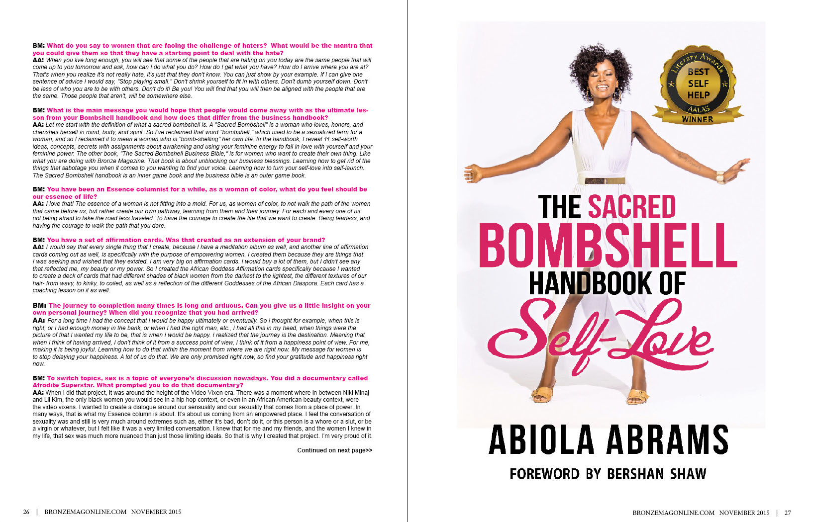 African American Motivational Speaker, Abiola Abrams