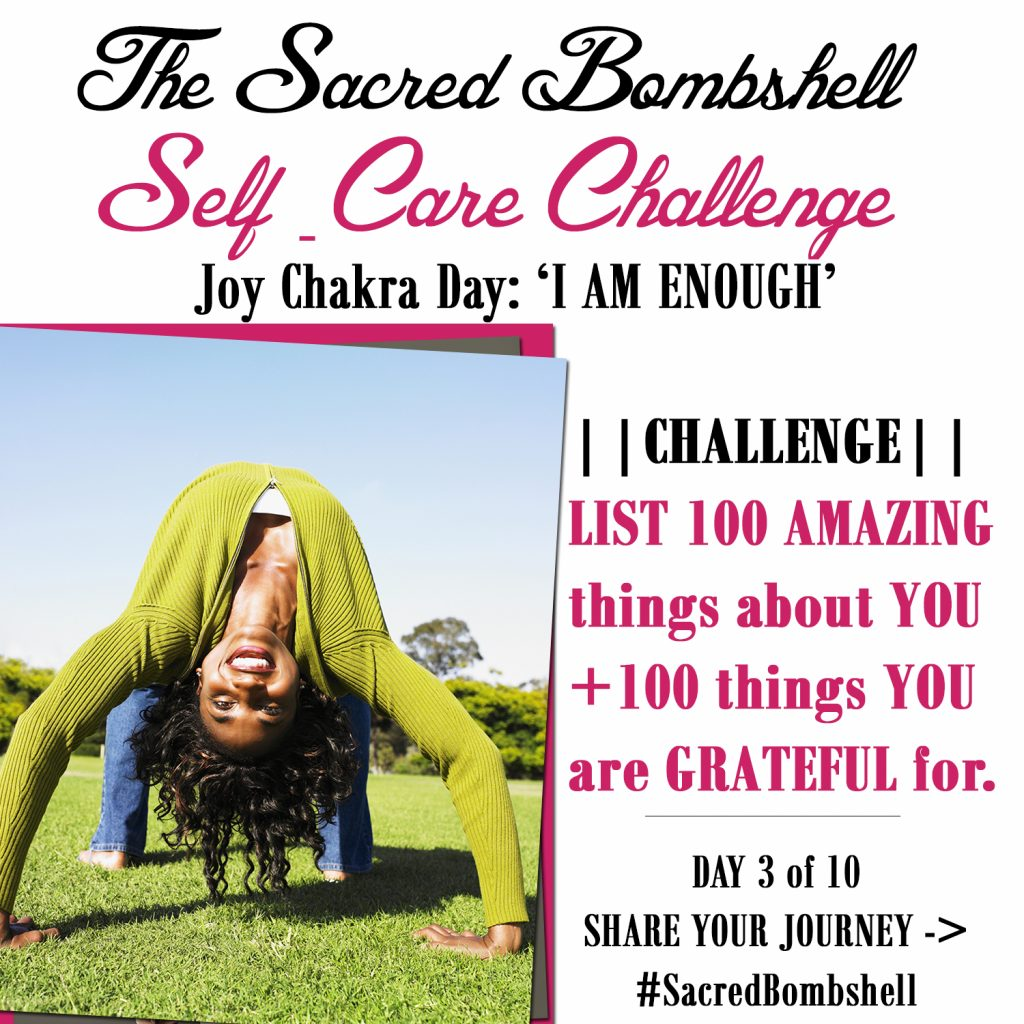3 - Self-Care Challenge Happiness Chakra