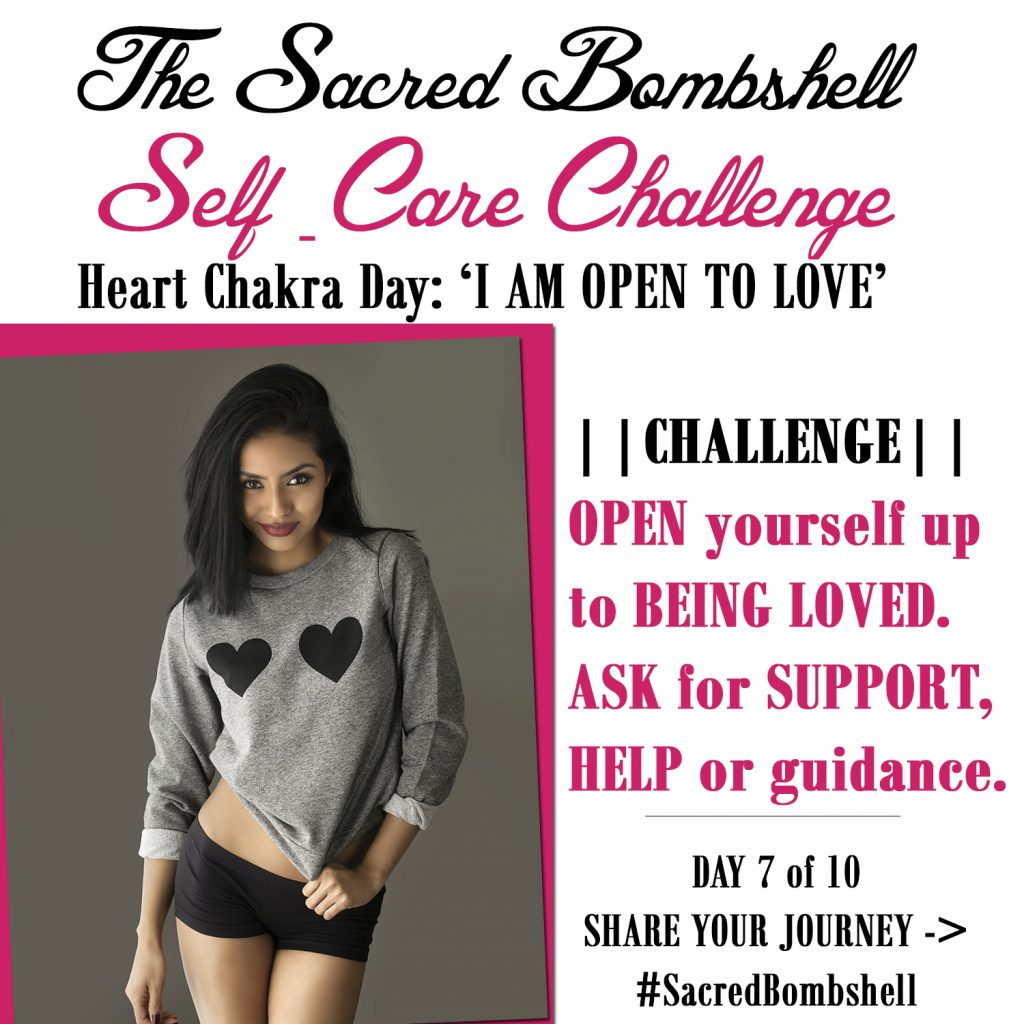 7 - Self-Care Challenge Heart Chakra