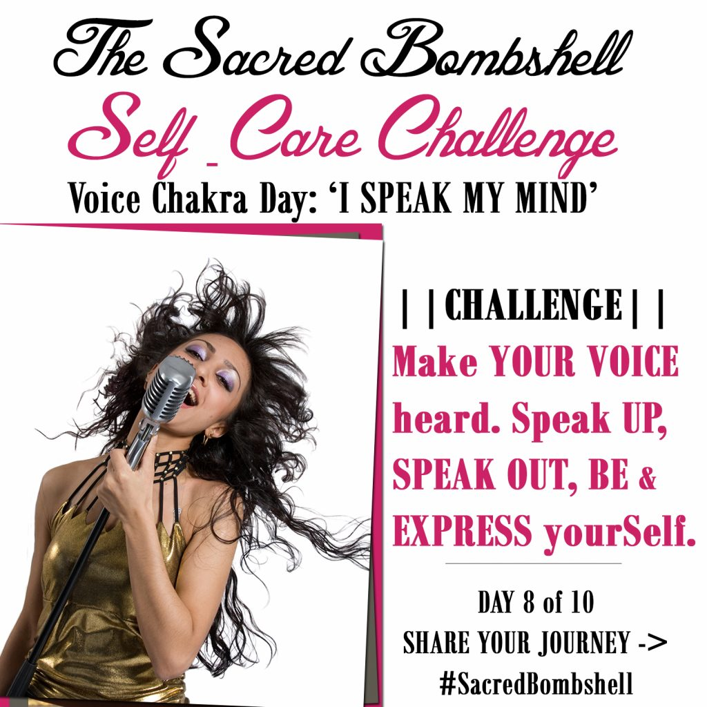 8 - Self-Care Challenge Voice Chakra