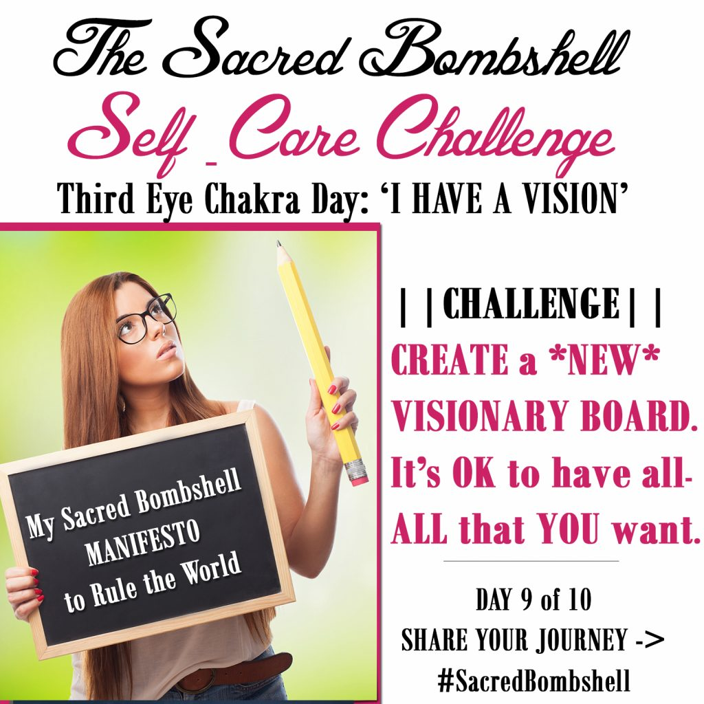 9 - Self-Care Challenge Vision Chakra