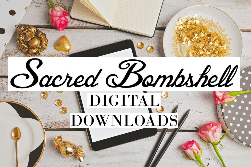 Sacred Bombshell Digital Downloads