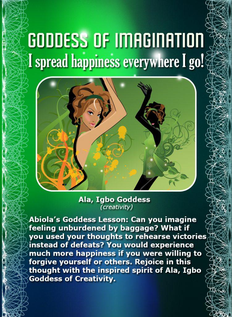 Ala, Igbo Goddess of Fertility and Imagination
