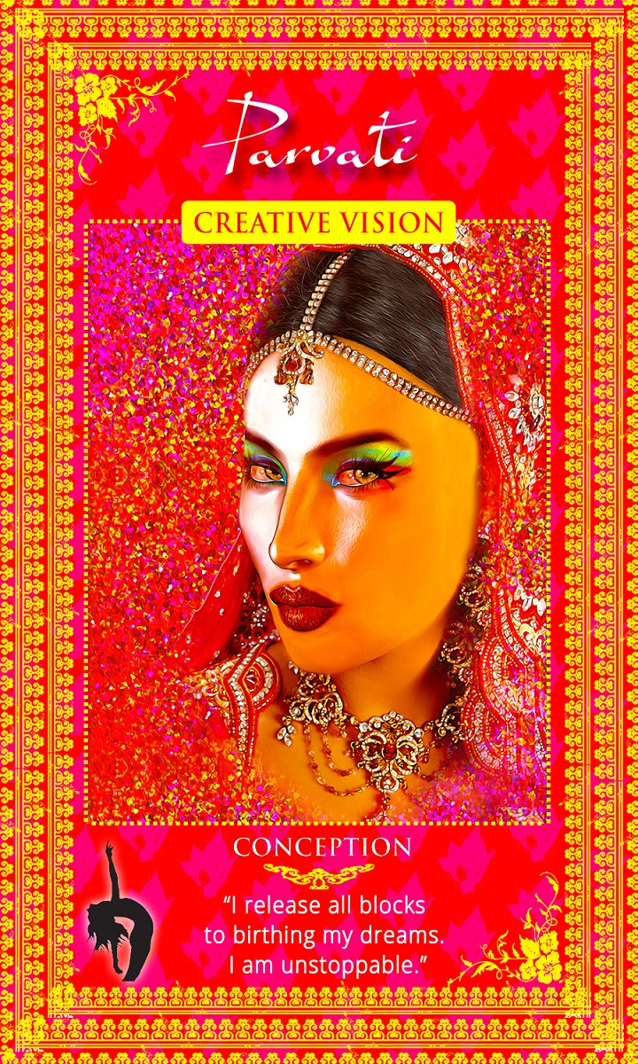 Womanifesting: Fertility Goddess Affirmation Cards
