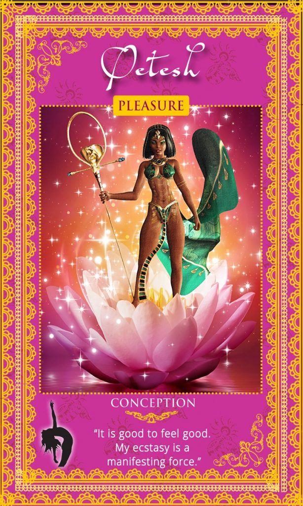 Womanifesting: Fertility Goddess Affirmation Cards