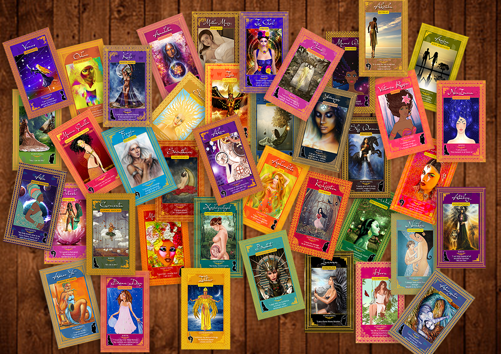 Fertility Goddess Affirmation Cards - Demeter