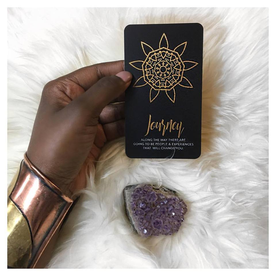 affirmation oracle card for healing
