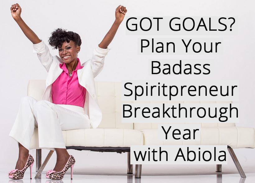 Create an amazing year - plan