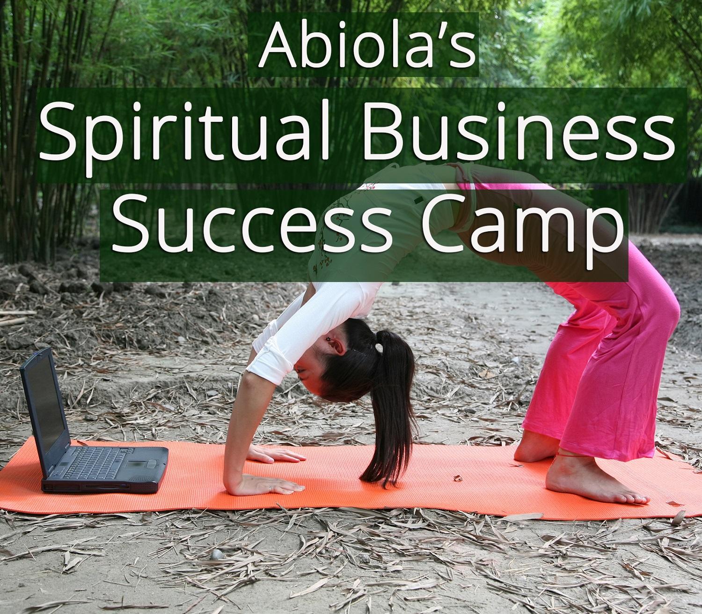 Spiritual Business Success Camp