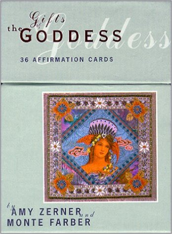 Affirmation cards gifts goddess