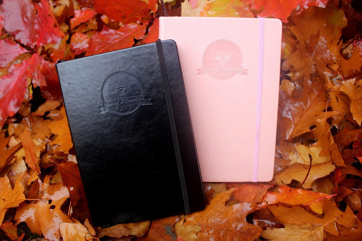 law of attraction planner and journal manifesting