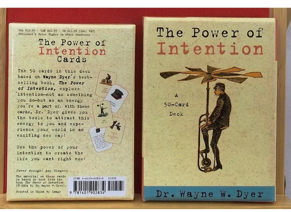 Power of Intention Cards - Dr Wayne Dyer