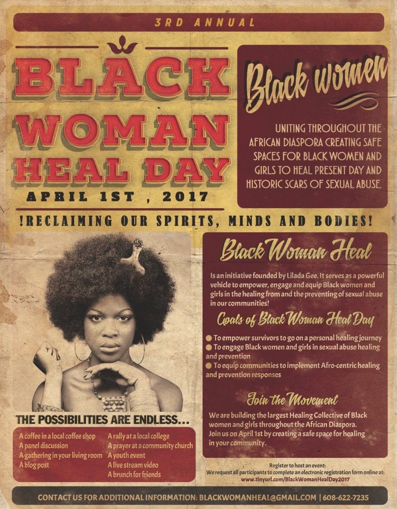 Black Women Healing Day with Abiola Abrams