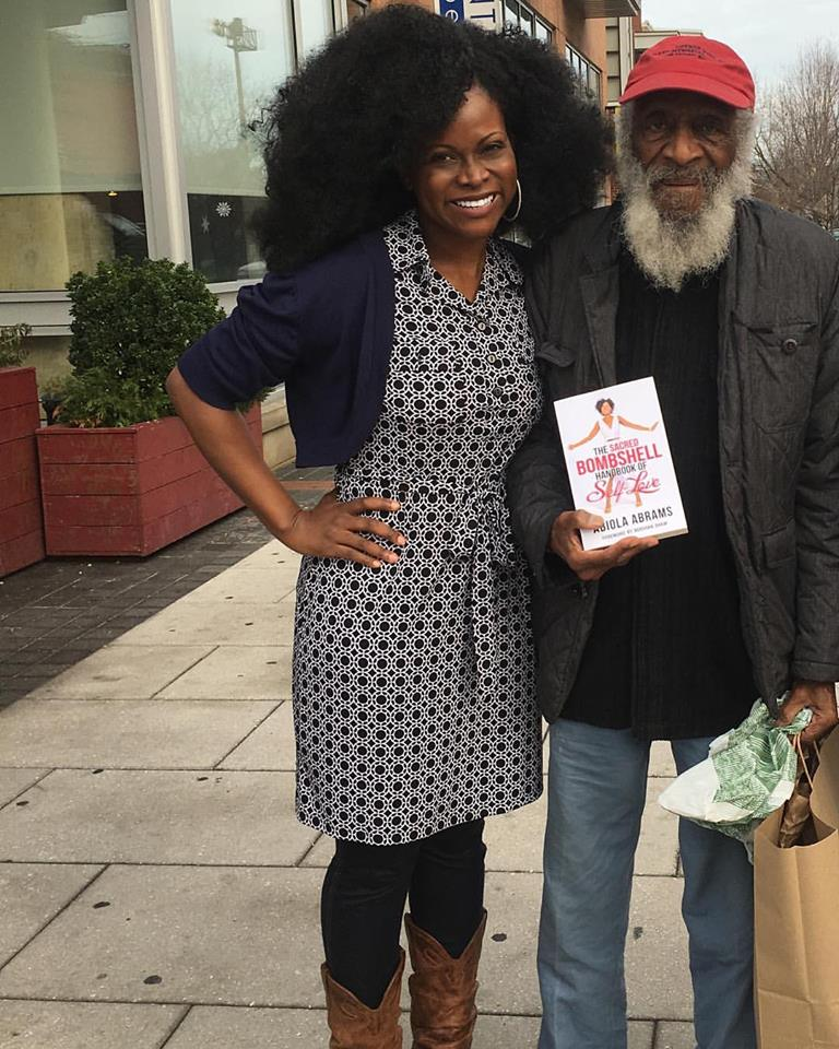 Dick Gregory and Abiola Abrams