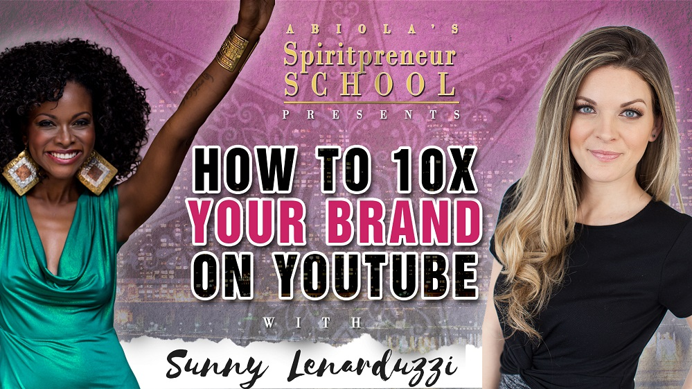 How to Build a Personal Brand with YouTube Channel with Sunny Lenarduzzi (Audio