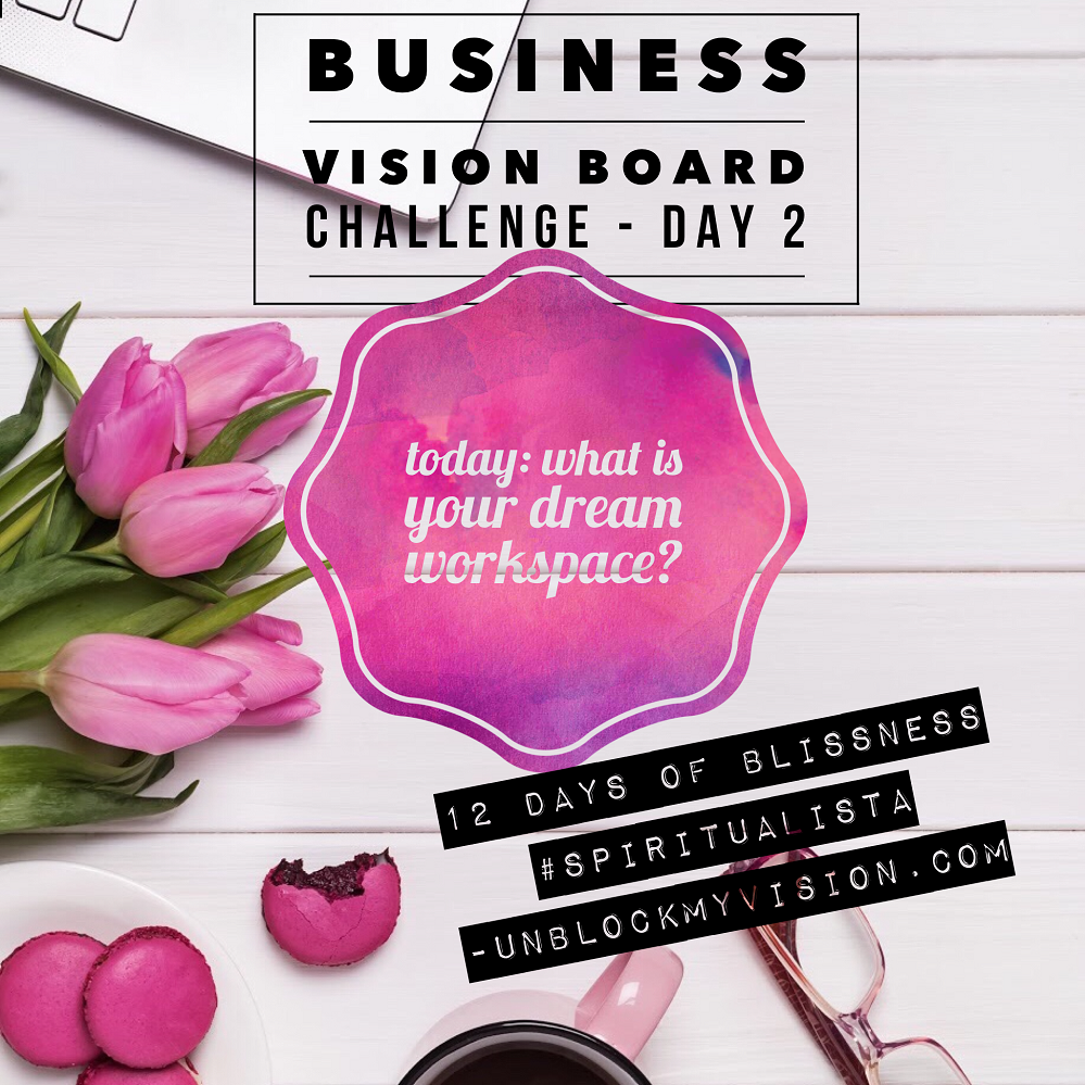 business vision board challenge