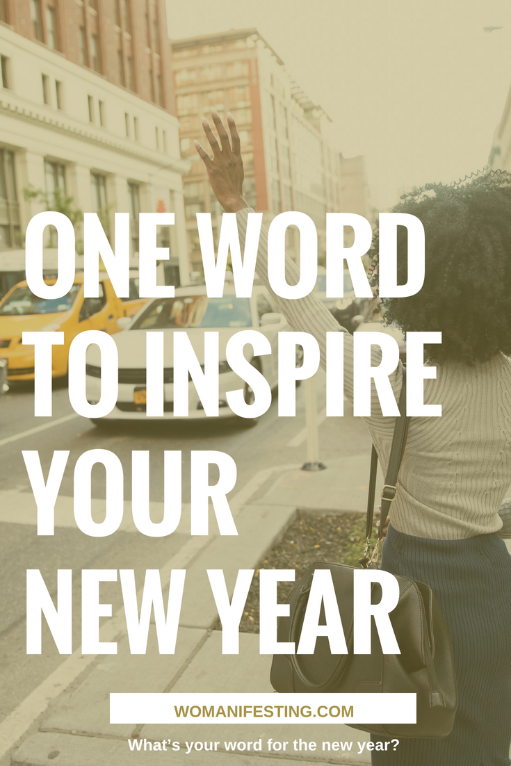 One Word to Inspire Your New Year