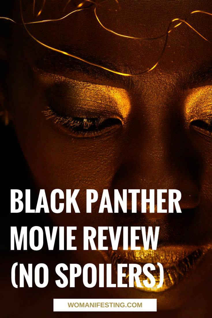 Black Panther Movie Review by Damali, the Glitter Priestess