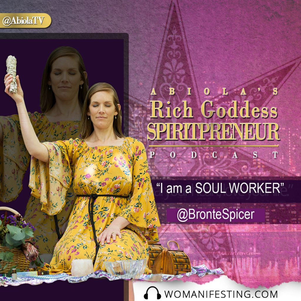 Spiritual Entrepreneur Bronte Spicer - intuitive