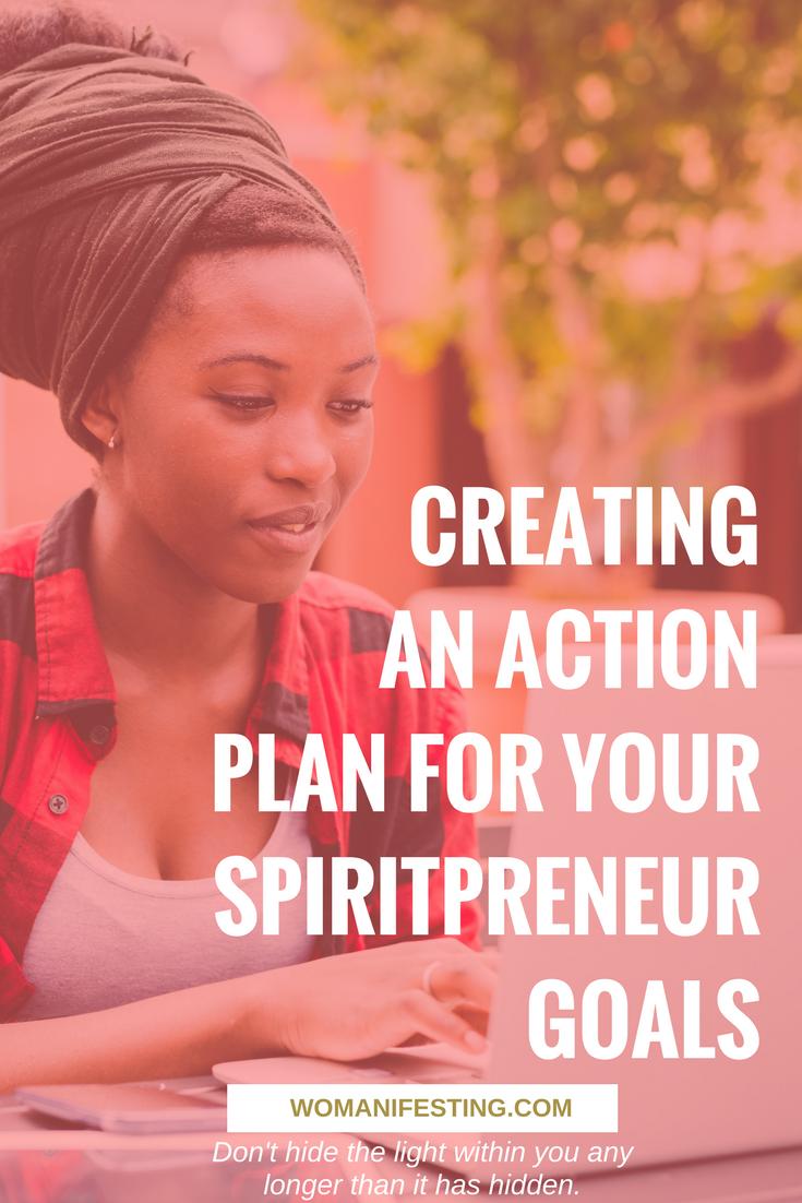 Creating an Action Plan for Your Spiritpreneur Goals