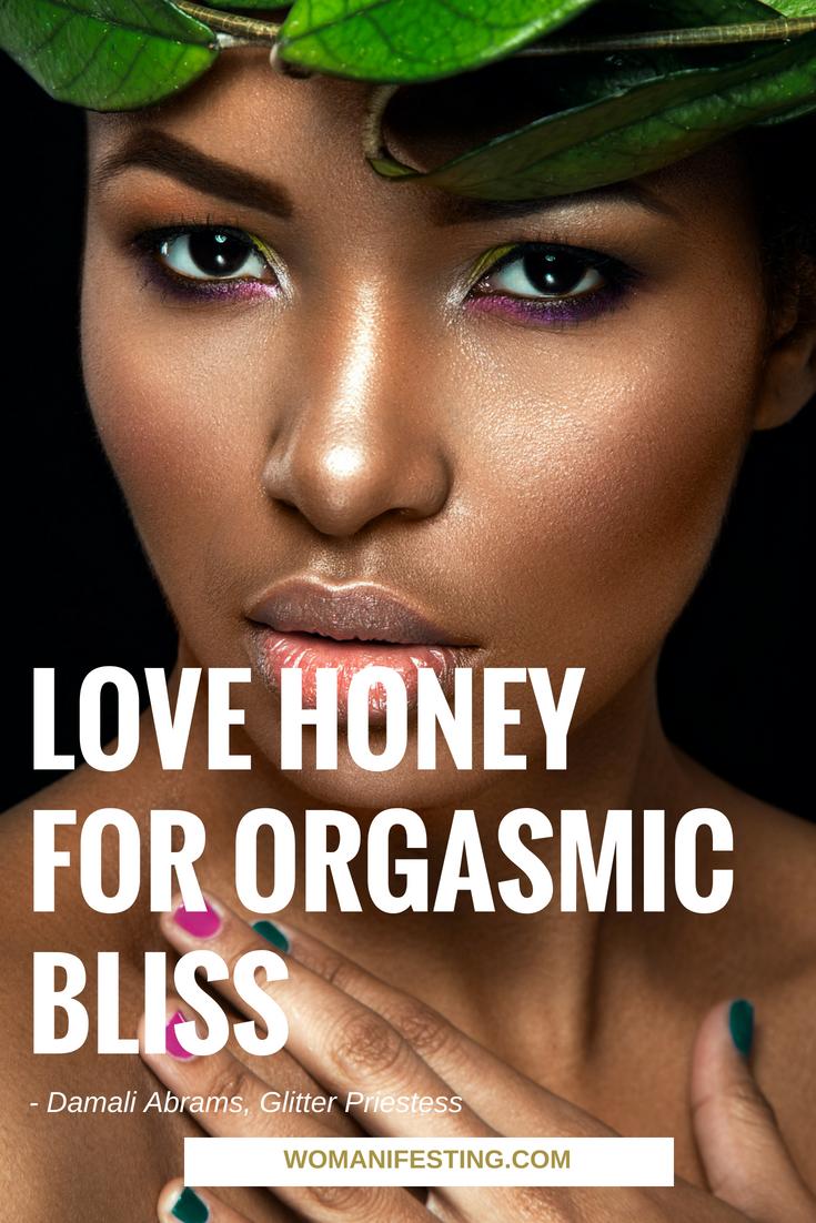 DIY Glitter Priestess Love Honey for Orgasmic Bliss