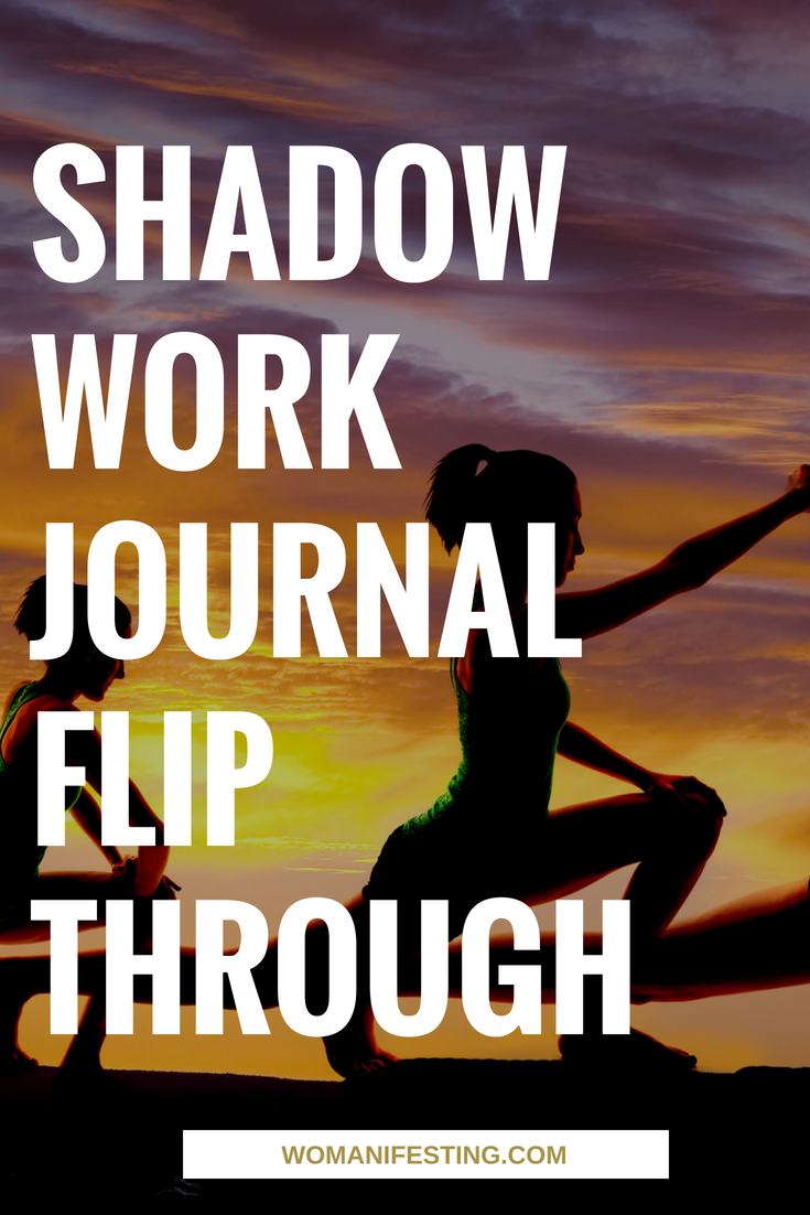 Shadow Work Journal Flip Through