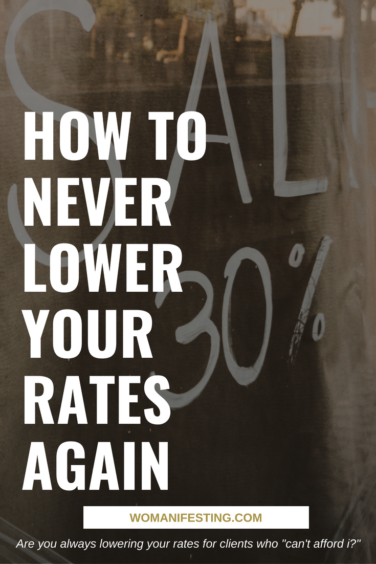 Art of Discount How to Never Lower Your Rates Again