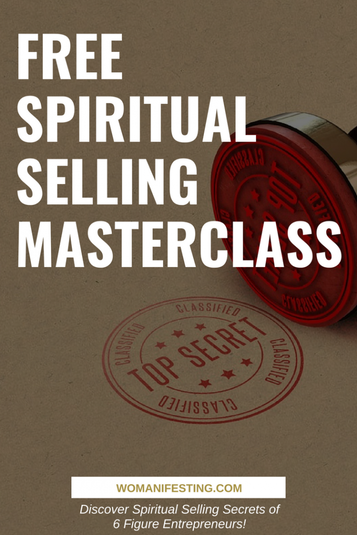 Free Spiritual Selling Masterclass