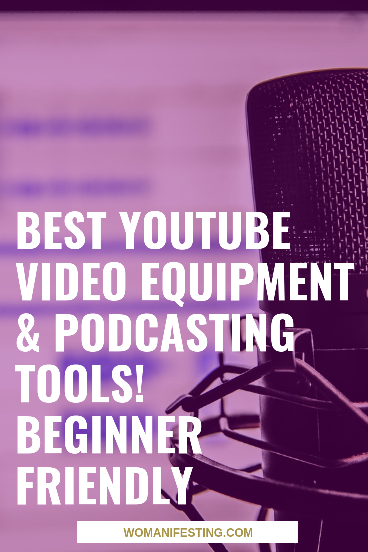 Best YouTube Video Equipment & Podcasting Tools! Beginner Friendly