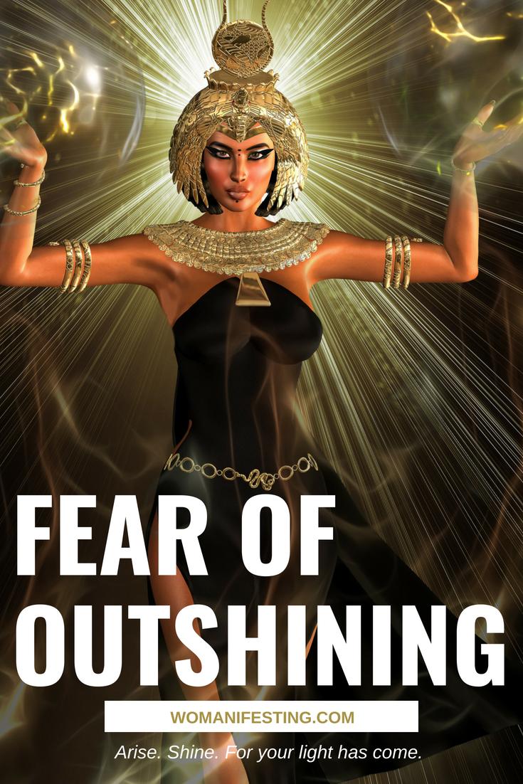 Fear of Outshining - Spiritpreneur Roadblock Series